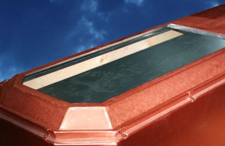 cercueil vitre